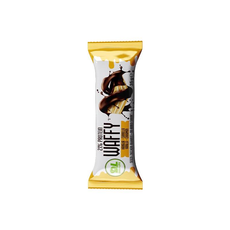 10 Wafer proteico Protein Waffy 35gr 3 gusti