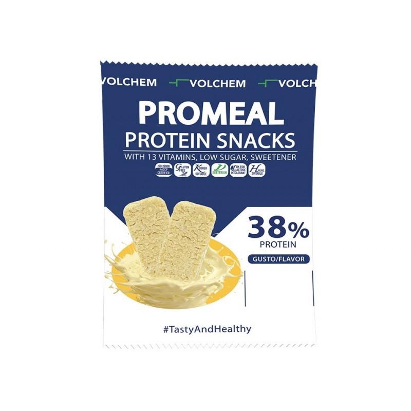 Promeal protein snack Volchem 38% gr 37,5 (3 gusti)