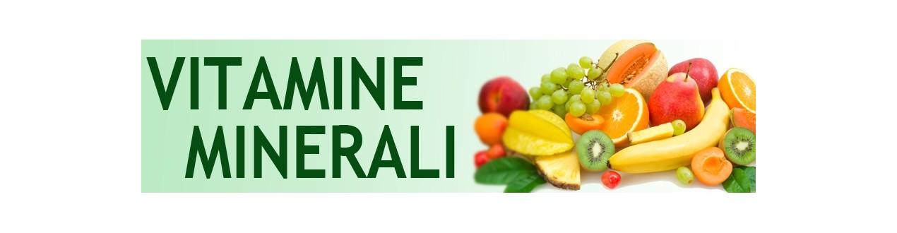 Vitamine e minerali per lo sport